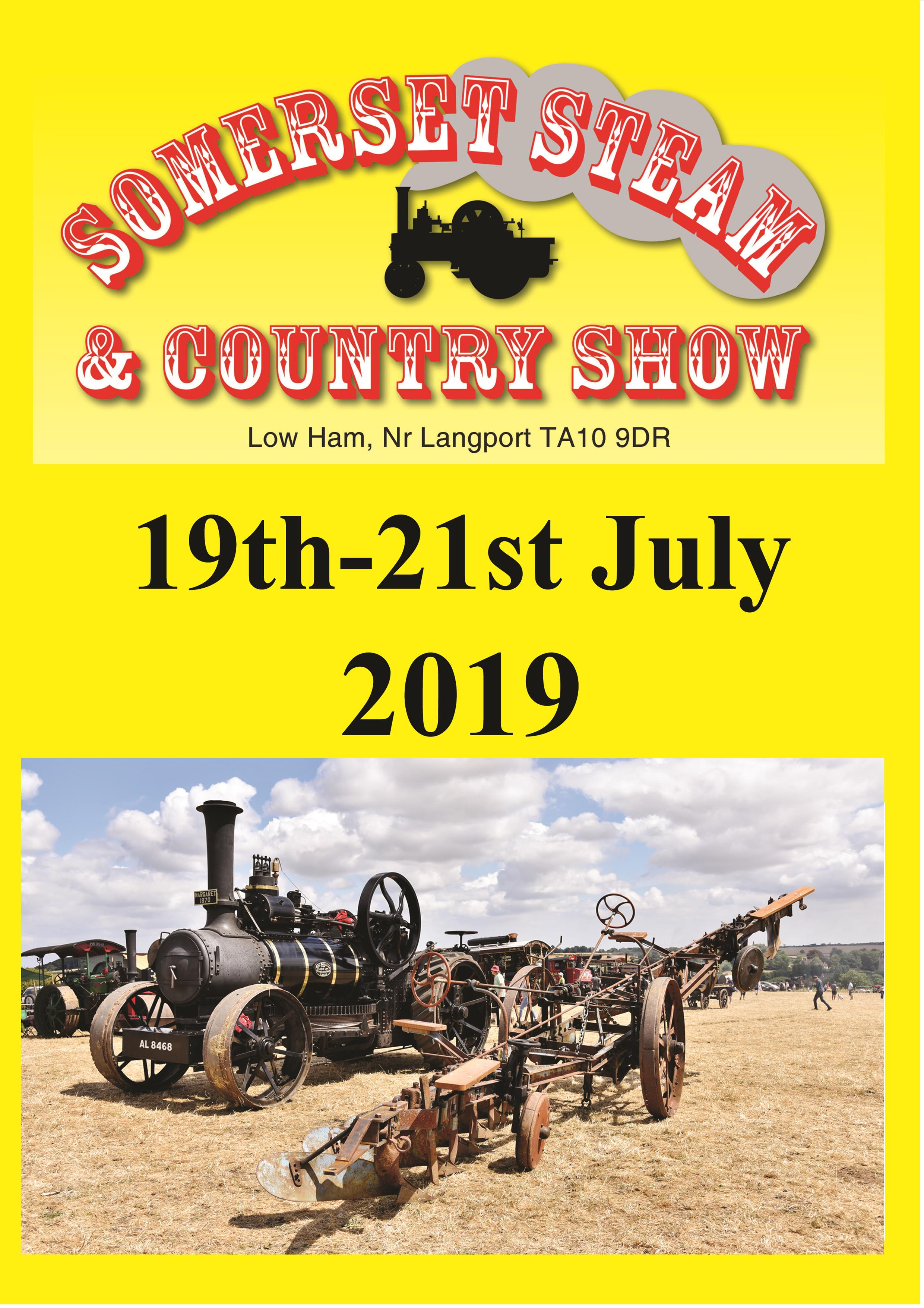 Somerset Steam & Country Show 2019