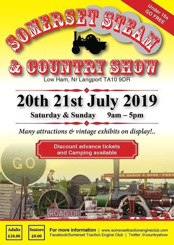 Somerset Steam & Country Show 2018